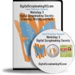 Digital Scrapbooking Secrets: Misting, Stamping and More