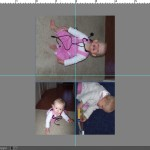 How to put multiple photos on a 4×6 canvas for printing