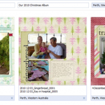 How to share your scrapbook pages on Facebook