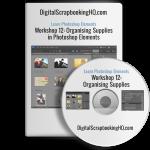 Organize your Digital Scrapbooking Supplies