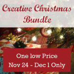 Just 13hrs and counting… Creative Christmas Bundle