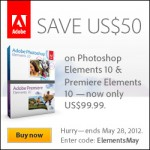 Photoshop Elements Coupon for up to $50 off