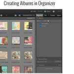 Creating Albums in Photoshop Elements Organizer