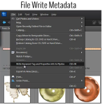 How to Write Metadata in Photoshop Elements Organizer
