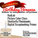 Birthday Bonanza! Giveaways inside