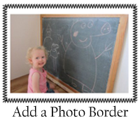 Add a Photo Border