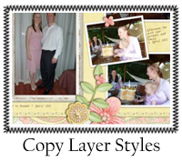Copy & Paste Layer Styles