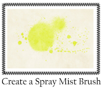Create Spray Mist