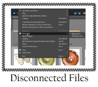 Disconnected Files