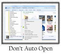 Don't Auto Open