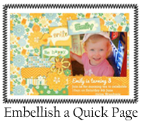Embellish Quick Page