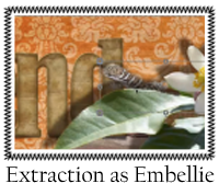 Extraction as Embellie