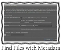 Find Files with Metadata