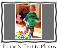 frame-text