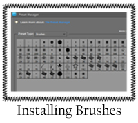 Install Brushes