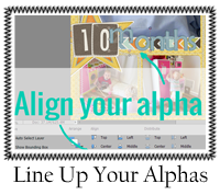 Line Up Your Alphas