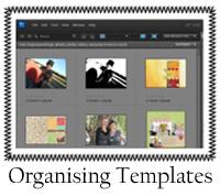 Organising Templates
