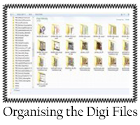 Organising the Digi Files