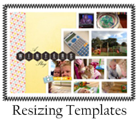 Resizing Templates