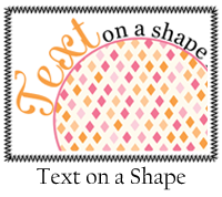 Text on a Shape