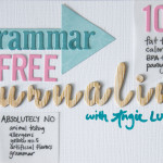GIVEAWAY! Grammar-Free Journalling Workshop