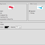 Photoshop Elements 11 Preferences Display & Cursors