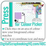 ABCs of PSE: I is for Colour Picker