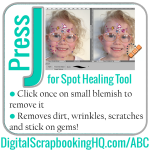 ABCs of PSE: J is for Spot Healing