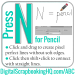 ABCs of PSE: N is for Pencil