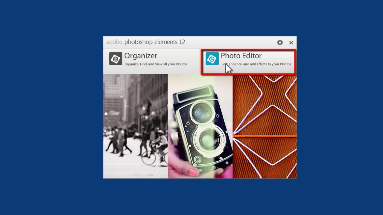 Photoshop Elements: Making a Slideshow