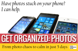Get Organized: Photos