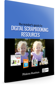 Digital Scrapbooking Resources