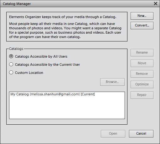 Photoshop Elements Organizer not Working? I can help!