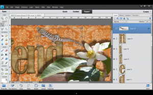 Learn how to use an extracted photo as an embellishment on a digital scrapbook layout. Click for full video tutorial! #digiscrap #digital #scrapbooking