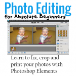 Learn how to edit your photos in Photoshop Elements