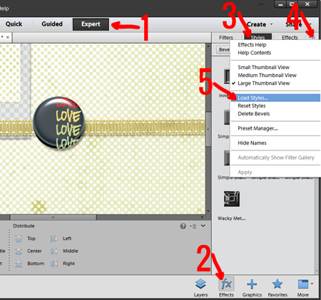 How to Install and Use Shadow Styles in Photoshop Elements