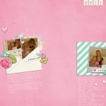Inside my Album: Mother's Day Scrapbook Layouts