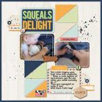 Inside my Album: Squeals of Delight