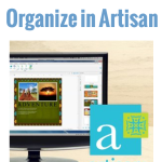 Organizing Digital Scrapbooking Supplies for Panstoria Artisan