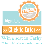 """Click to enter to win a spot in Cathy Zielske's """"Me: The Abridged Version for Project Life"""" #digiscrap #digital #scrapbooking #giveaway"""
