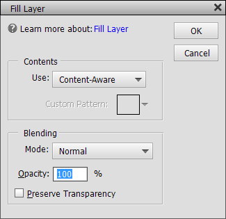 content aware fill in photoshop elements