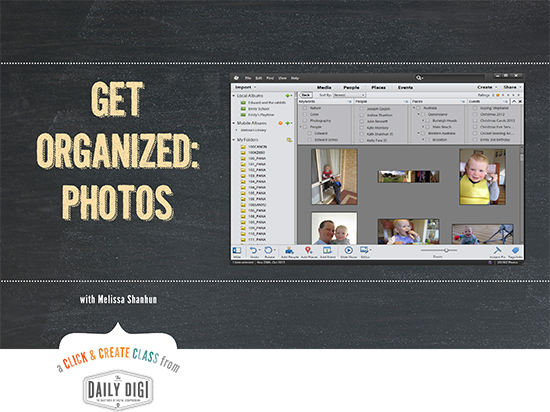 get organized photos