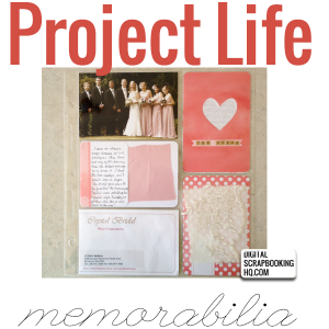 Learn how to use Project Life to document your memorabilia! #digiscrap #scrapbooking #digital