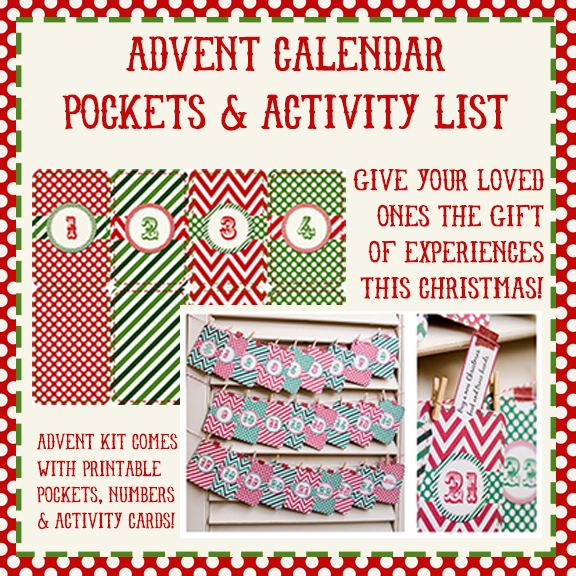 Make fun family memories with this printable Advent Calendar from Connie Hanks http://www.digitalscrapbookinghq.com/make-family-memories-connie-hanks/ #advent #printable #family #DIY