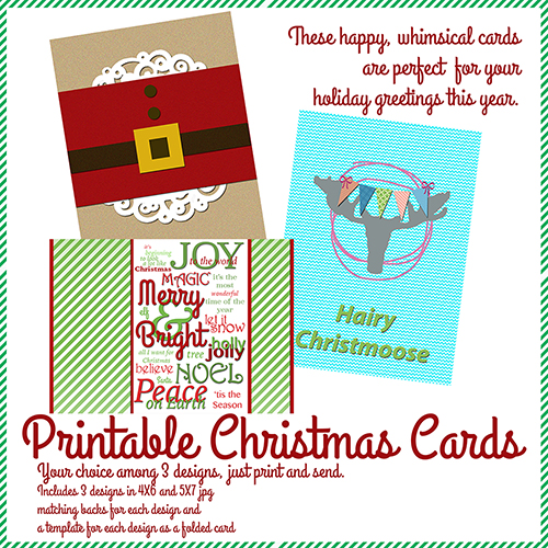 Create your Christmas with Cara Vincens http://www.digitalscrapbookinghq.com/create-christmas-cara-vincens/ #scrapbook #cards #printable #cardmaking