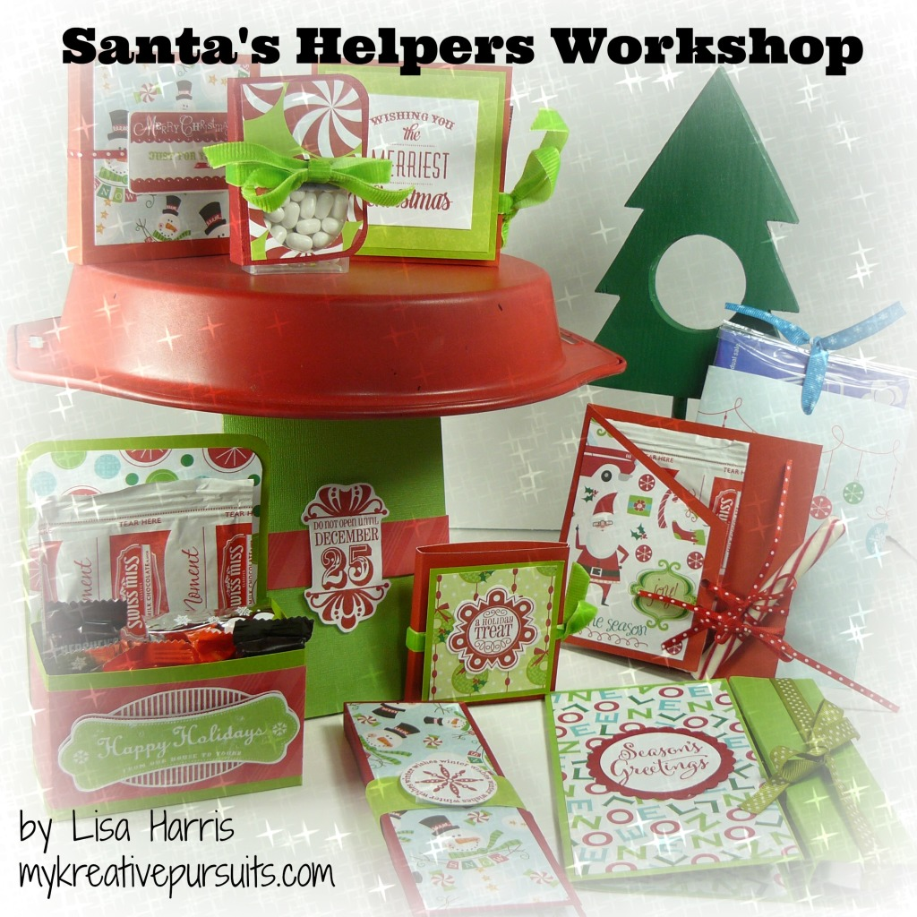 Get Creative this Christmas with the Santa's Helpers Workshop from Lisa Harris http://www.digitalscrapbookinghq.com/santas-helpers-lisa-harris/  #handmade #gift #crafts