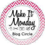Make it Monday pink circle