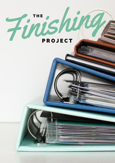 "Listen to this episode of the Scrapbook Inspiration Podcast as I chat with Jennifer Wilson about her new class ""The Finishing Project."" Enter to win a seat in this fun new class! #scrapbooking #giveaway"