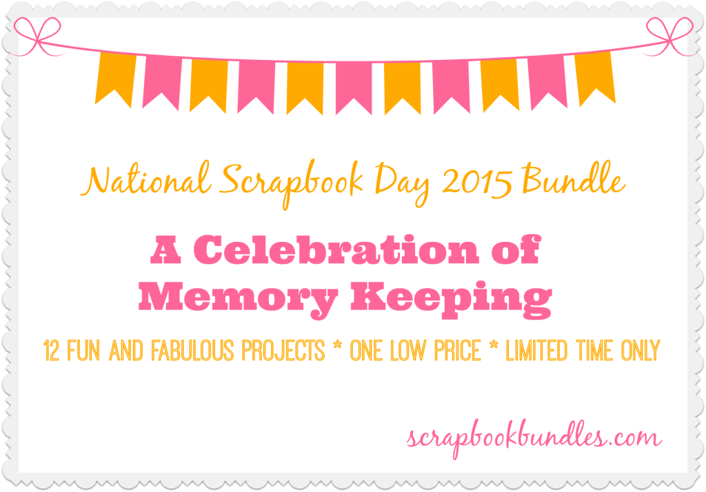 Celebrate memory keeping with the {inter}National Scrapbook Day Bundle. Learn more on this episode of the Scrapbook Inspiration Podcast!