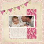 Inside my Album: A Simple Baby Book